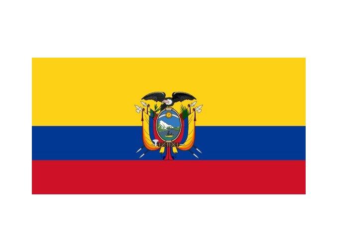 Vlajka Ekvádoru o velikosti 90 x 150 cm