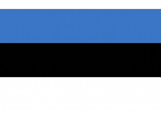 Vlajka Estonska o velikosti 90 x 150 cm