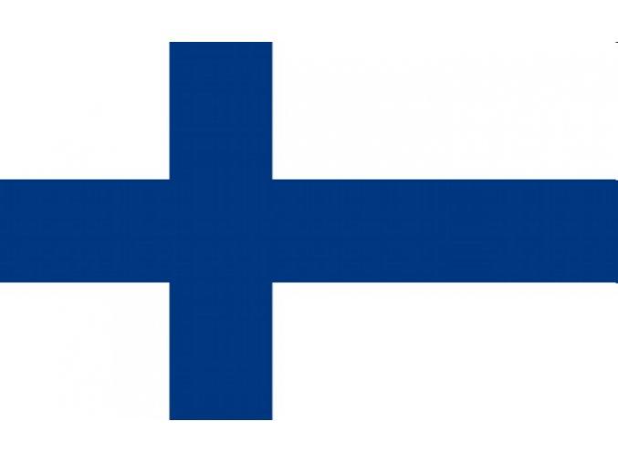 Vlajka Finska o velikosti 90 x 150 cm