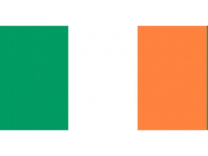 Vlajka Irska o velikosti 90 x 150 cm