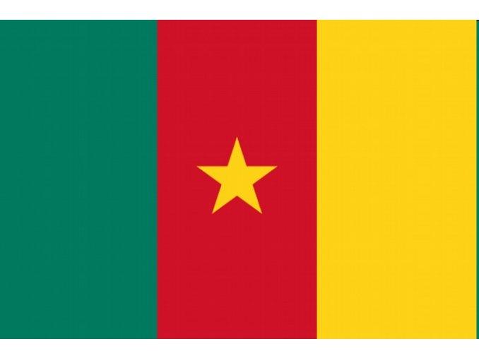 Vlajka Kamerun o velikosti 90 x 150 cm