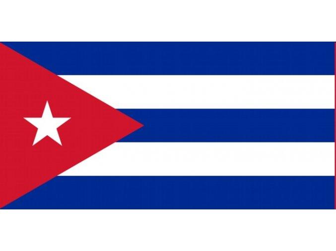 Vlajka Kuba o velikosti 90 x 150 cm