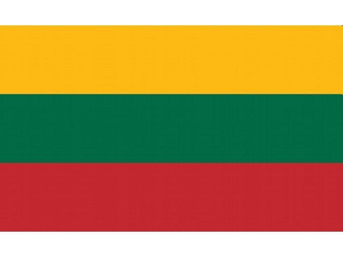 Vlajka Litva o velikosti 90 x 150 cm