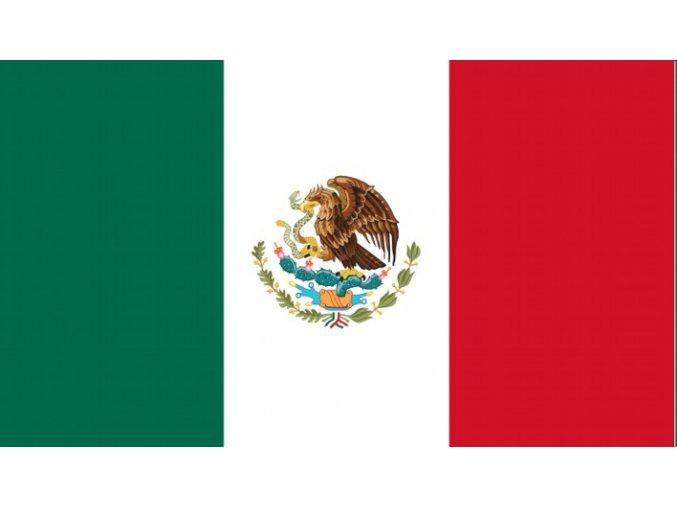 Vlajka Mexiko o velikosti 90 x 150 cm