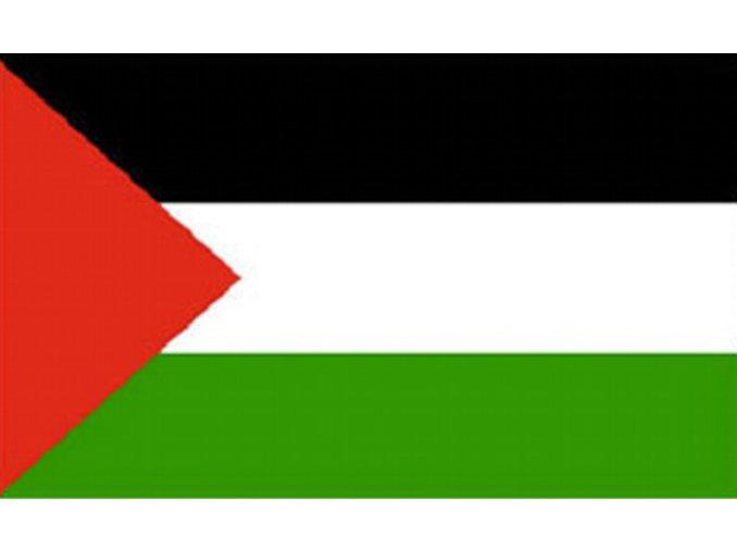 Vlajka Palestiny o velikosti 90 x 150 cm