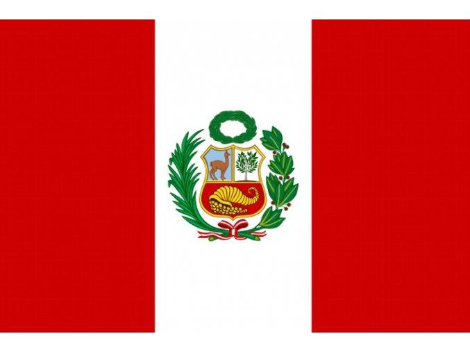 Vlajka Peru o velikosti 90 x 150 cm