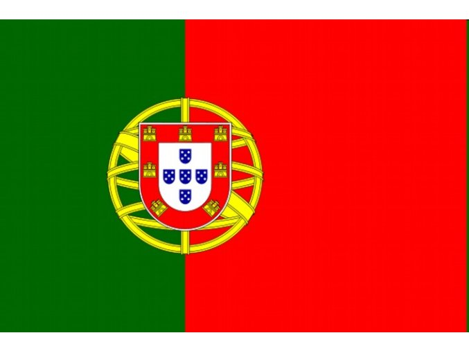 Vlajka Portugalsko o velikosti 90 x 150 cm