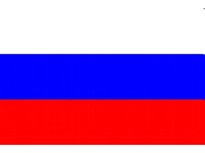 Vlajka Rusko o velikosti 90 x 150 cm