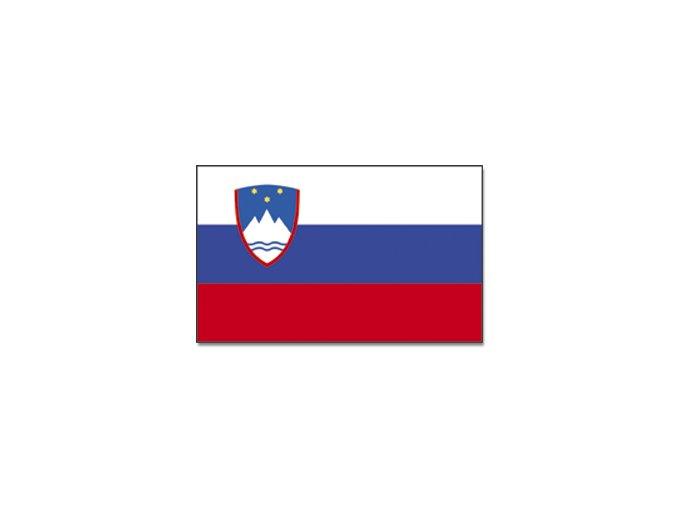 Vlajka Slovinsko o velikosti 90 x 150 cm