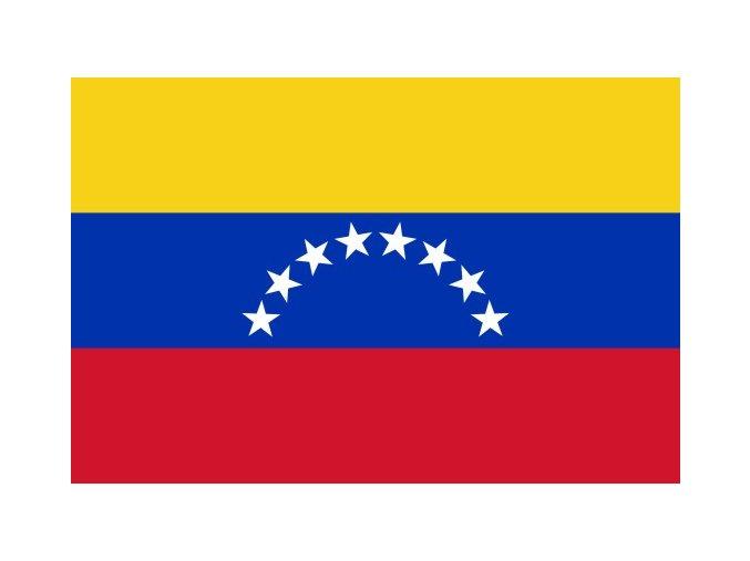 Vlajka Venezuely o velikosti 90 x 150 cm