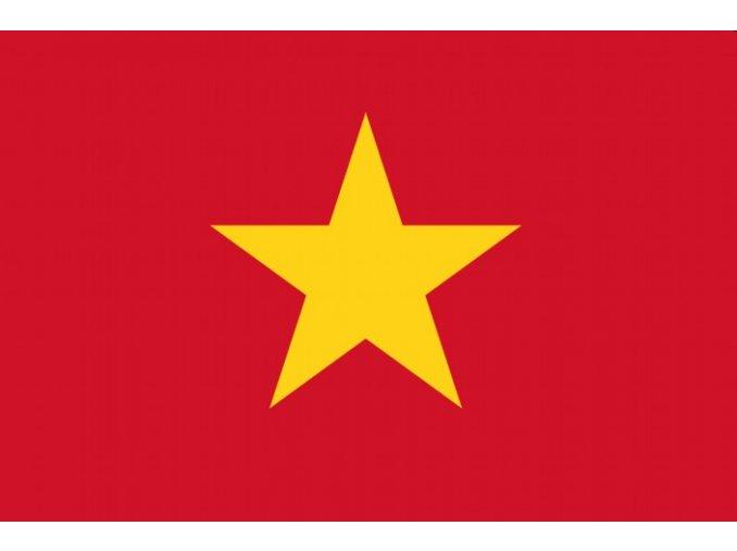 Vlajka Vietnam o velikosti 90 x 150 cm