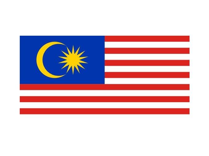 Vlajka Malajsie o velikosti 90 x 150 cm