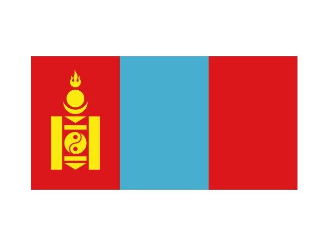 Vlajka Mongolska o velikosti 90 x 150 cm