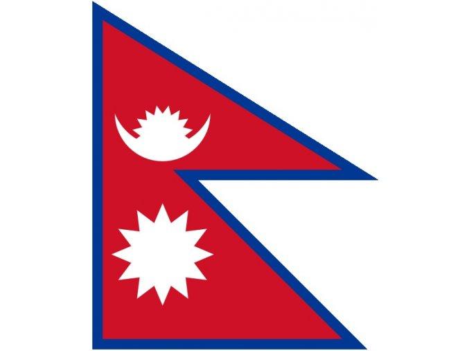 Vlajka Nepálu o velikosti 90 x 150 cm