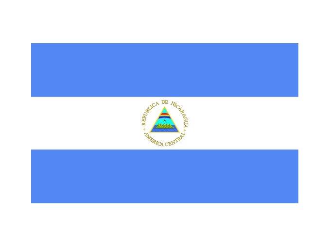 Vlajka Nikaragui o velikosti 90 x 150 cm