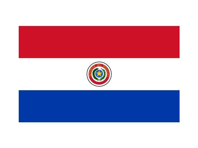 Vlajka Paraguay o velikosti 90 x 150 cm