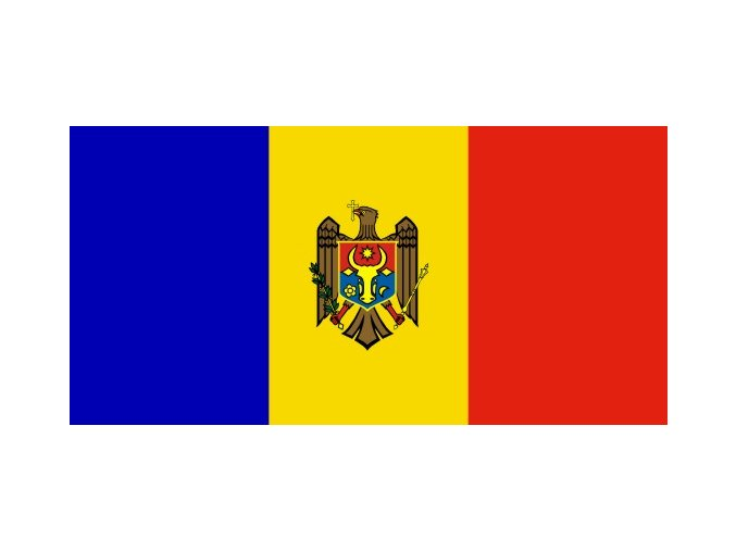 Vlajka Moldavska o velikosti 90 x 150 cm