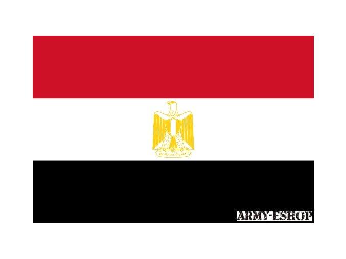 Vlajka Egyptu o velikosti 90 x 150 cm