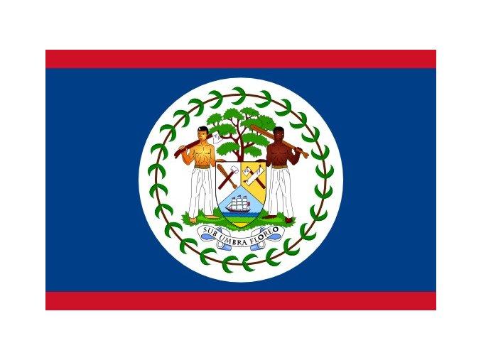 Vlajka Belize o velikosti 90 x 150 cm