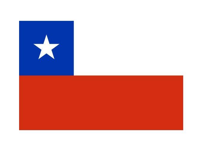 Vlajka Chile o velikosti 90 x 150 cm