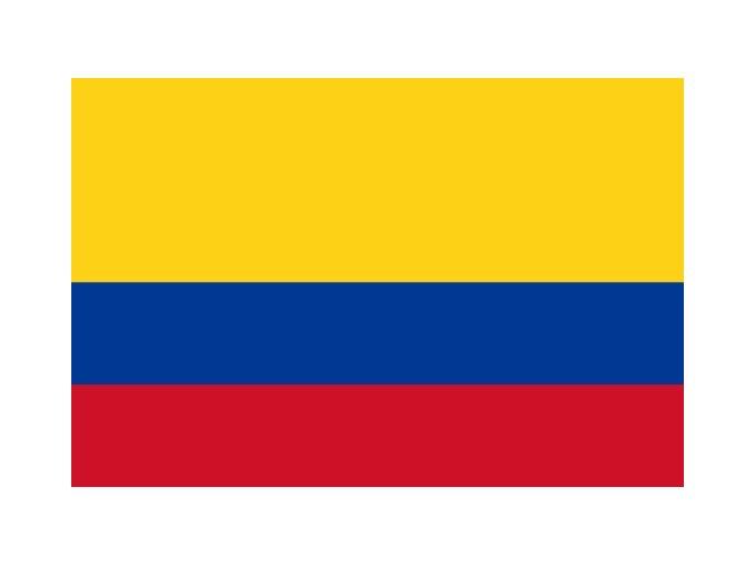 Vlajka Kolumbie o velikosti 90 x 150 cm