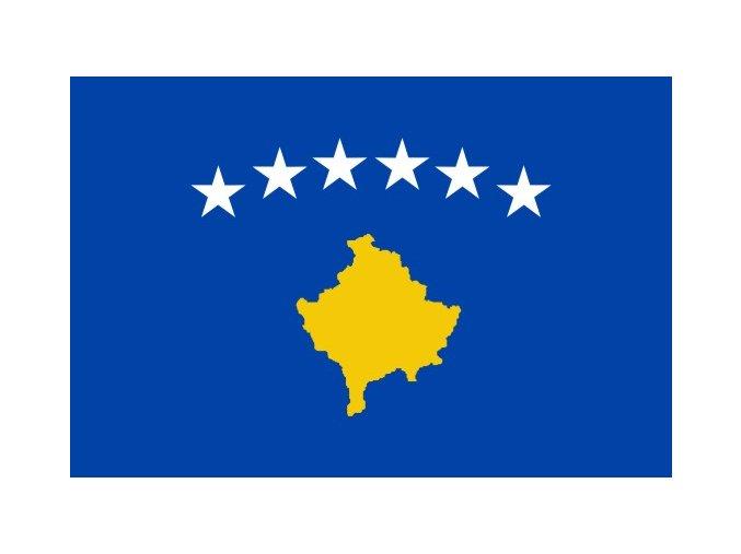 Vlajka Kosova o velikosti 90 x 150 cm