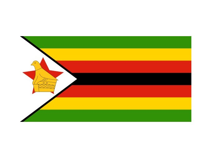 Vlajka Zimbabwe o velikosti 90 x 150 cm