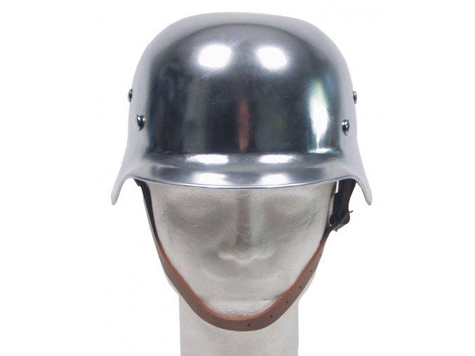 Helma vojenská - kopie z 2. světové války CHROM