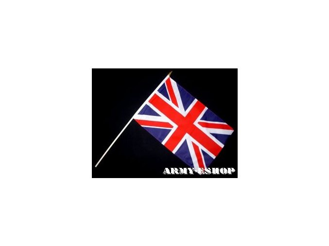 Vlaječka - praporek Velká Británie 30 x 45 cm