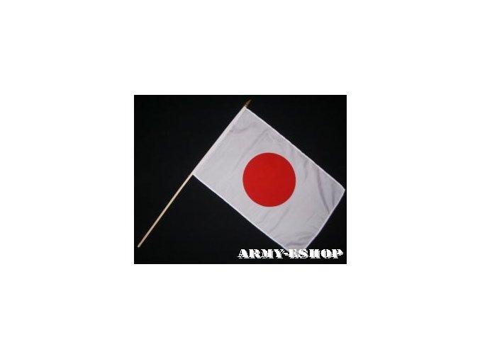 Vlaječka - praporek Japonsko 30 x 45 cm