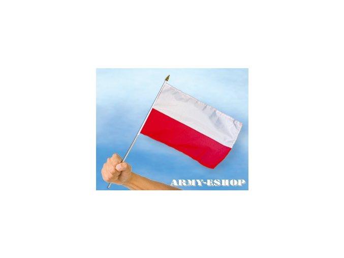 Vlaječka - praporek Polsko 30 x 45 cm