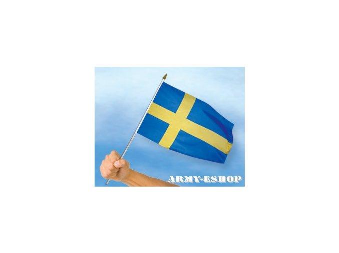 Vlaječka - praporek Švédsko 30 x 45 cm