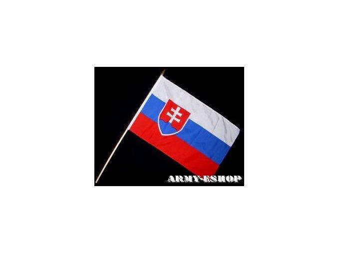 Vlaječka - praporek Slovensko 30 x 45 cm