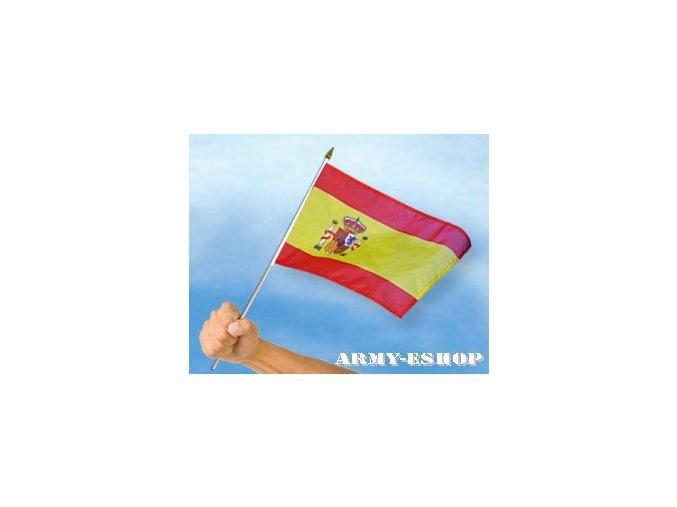Vlaječka - praporek Španělsko 30 x 45 cm
