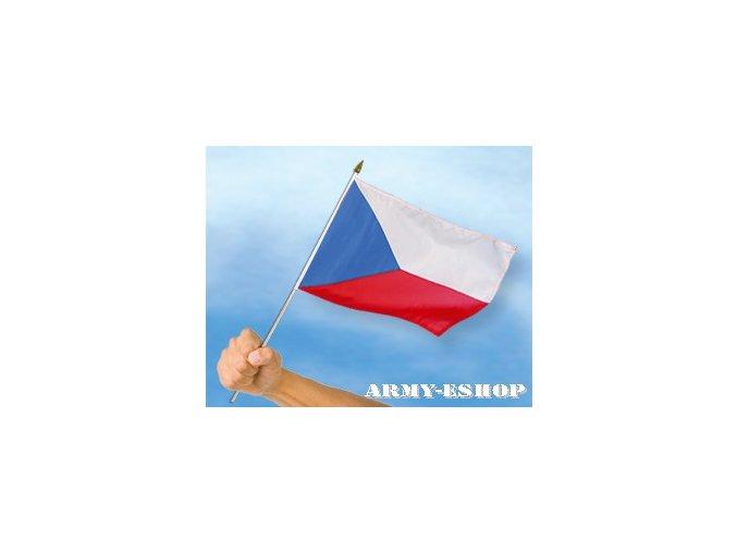 Vlaječka - praporek Česká Republika 30 x 45 cm