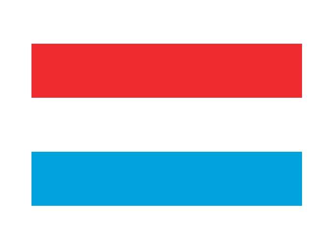 Vlajka Lucembursko o velikosti 90 x 150 cm