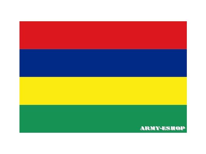 Vlajka Mauricius o velikosti 90 x 150 cm