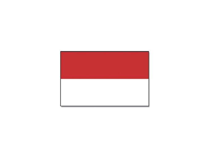Vlajka Monako o velikosti 90 x 150 cm