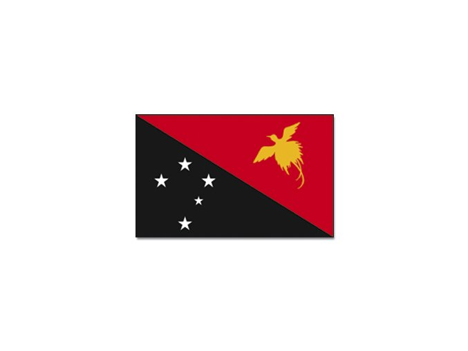 Vlajka Papua-Nová Guinea o velikosti 90 x 150 cm