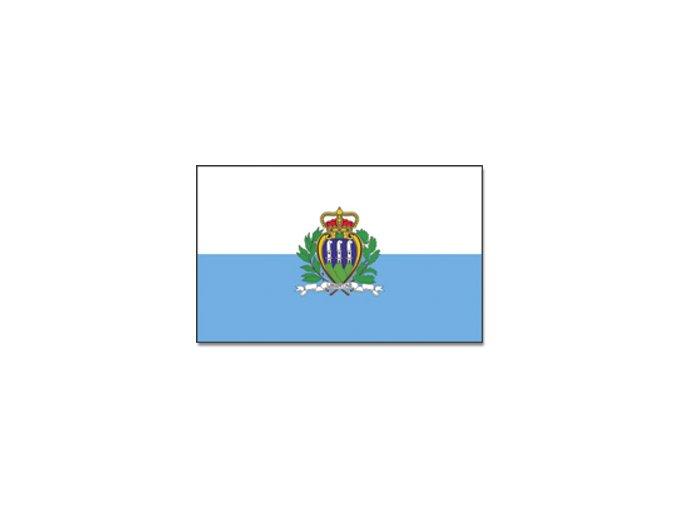 Vlajka San Marino o velikosti 90 x 150 cm