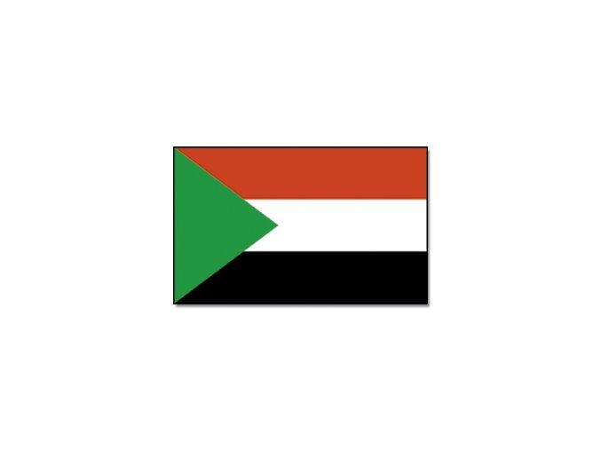 Vlajka Súdán o velikosti 90 x 150 cm