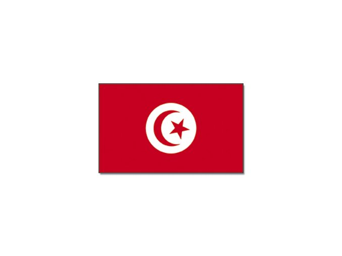 Vlajka Tunisko o velikosti 90 x 150 cm