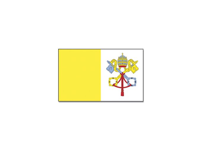 Vlajka Vatikán o velikosti 90 x 150 cm