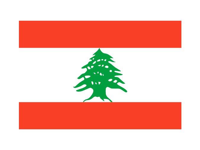 Vlajka Libanon o velikosti 90 x 150 cm
