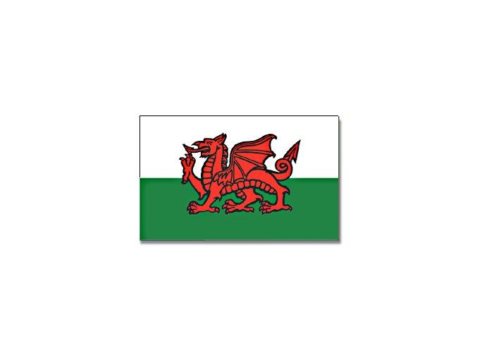 Vlajka Wales o velikosti 90 x 150 cm