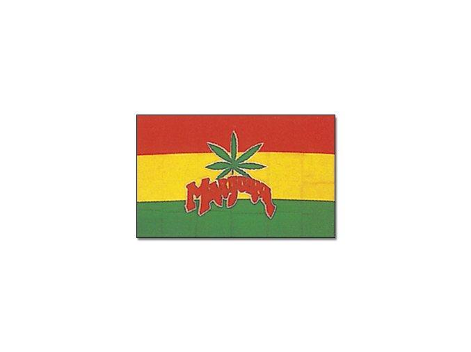 Vlajka Marihuana o velikosti 90 x 150 cm