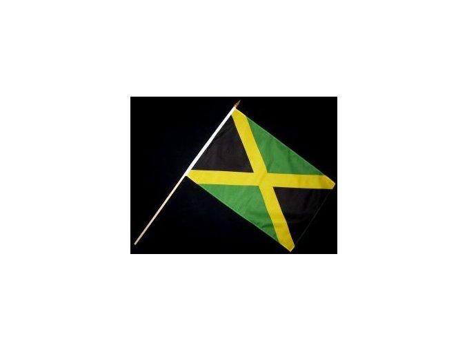 Vlaječka - praporek Jamajka 30 x 45 cm