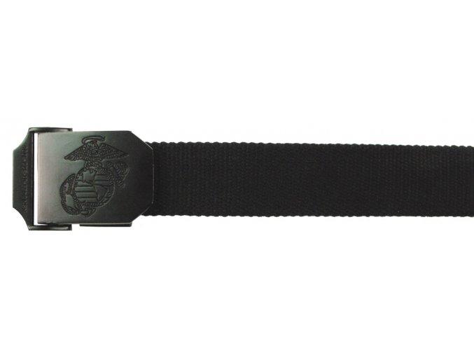Opasek USMC mariňácký černý 35 x 130
