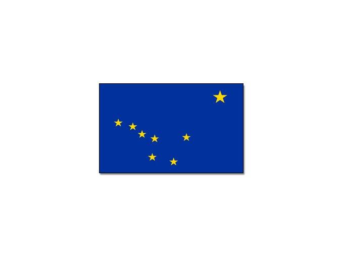 Vlajka Aljašky o velikosti 90 x 150 cm