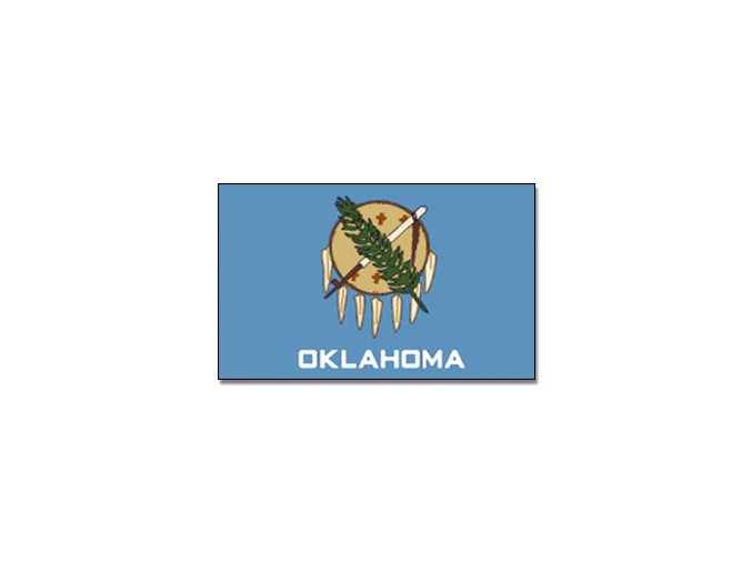 Vlajka Oklahoma o velikosti 90 x 150 cm